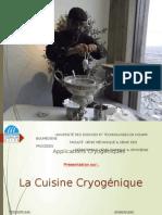 Cuise Cryogénique
