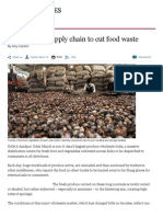 India Tackles Supply Chain to Cut Food Waste - FT