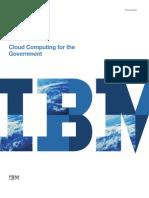 Cloud Computing for the Government Whitepaper IBM Nirupam Srivastava