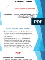 Consumer's Product Safety