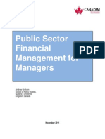 Public Sector Financial Management for Managers