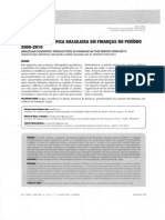 Produção Científica Brasileira Em Finanças No Preríodo 2000-201
