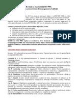 Revizuirea Standardului ISO 9001 2015