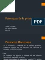 patologias de la prostata