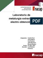 Electro Obtencion
