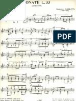 Scarlatti L33