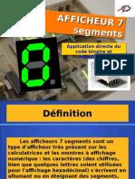 Afficheur 7 Segments;