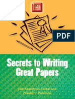 General Knowlwdge Secrets to Writing Great Papers (Study Smart Series)