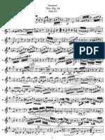 Kummer - Trio, Op.24 - Flute III