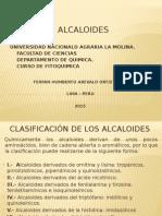 Alcaloides Clase 2015 II