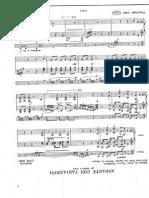 Rossini - Andante Con Variationi Per Flauto e Arpa