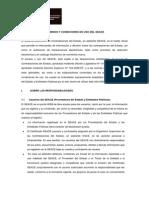 Terminos y Condiciones de Uso Del Seace
