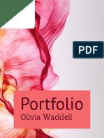 Portfolio Olivia Waddell
