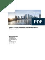 Cisco UCS Platform Emulator User Guide Release 2 5 2aPE1