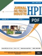 Jurnal HPI VOL 25 No 1 April 2012
