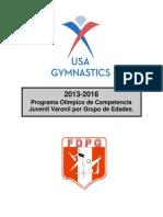 Programa Olimpico Juvenil 2013 2016 SPA