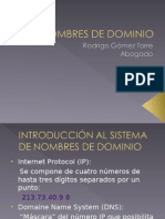 Nombres de Dominio 2014