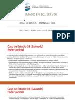 SQL SERVER - Caso de Estudio 03 - Evaluado[1]