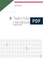 Team Member Handbook-Exempt