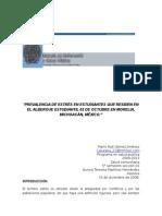 prevalencia del estres en estudiantes..doc