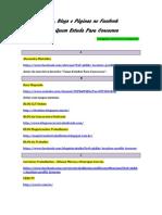 Dicas de sites e blogs para estudo