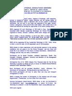 Letter For Prinipals Leadership Workshops at India International Centre- Delhi.