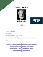 ARTE POÉTICA
