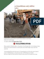 Israel's Revenge Demolitions Only Stiffen Palestinian Resolve