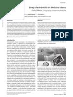 Ecografía de bolsillo en Medicina Interna