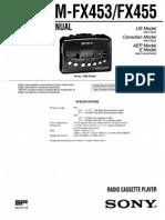 WM-FX453 Y 455