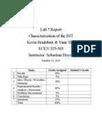 325 lab 7 report
