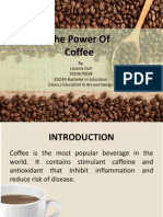 the power of coffee