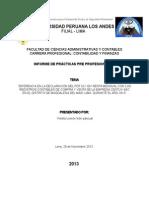 Practica Profesional UPLA en un estudio contable
