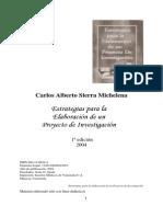 Estartegias Para La Elaboracion de Un Proyecto de Investigacion Sirra 2004