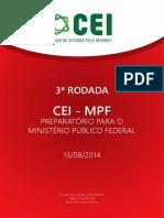 3ª Rodada - Cei-mpf