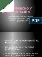 AGUILO Derecho y argumentación-JCSC