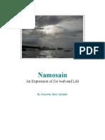 Namosain; An Expression of Dakwah and Life