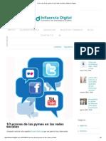 10 Errores de Las Pymes en Las Redes Sociales _ Influencia Digital