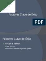 Factores Clave de Exito