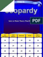 jeopardy - music theory