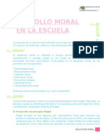 Desarrollo Moral Informe