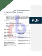 Hyperlinked Text of the Nevada Initiative to Regulate and Tax Marijuana