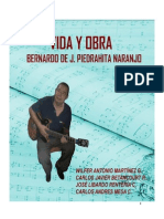 Vida y Obra Del Maestro Bernardo Piedrahita Texis Final