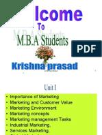Marketing management unit1AU