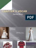 chapter 2 vocab