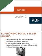 SOCIOlogia lec. 1  Unidad 1