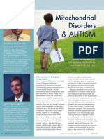 Mitochondrial Disorders & Autism - AND - Autism and Seizures