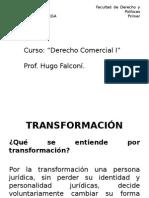 Transformación fusión escisión y reorganización.ppt