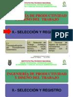 Selección y Registro