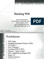 Hacking Wifi Josua M Sinambela